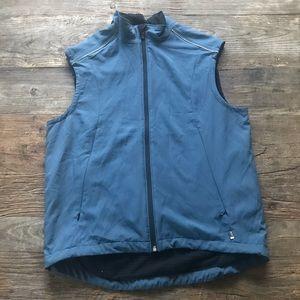 REI Lightweight Lined Vest Blue Size Medium